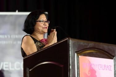 A photo of Dr. Sutapa Basu, executive director of the UW Alene Moris Women's Center