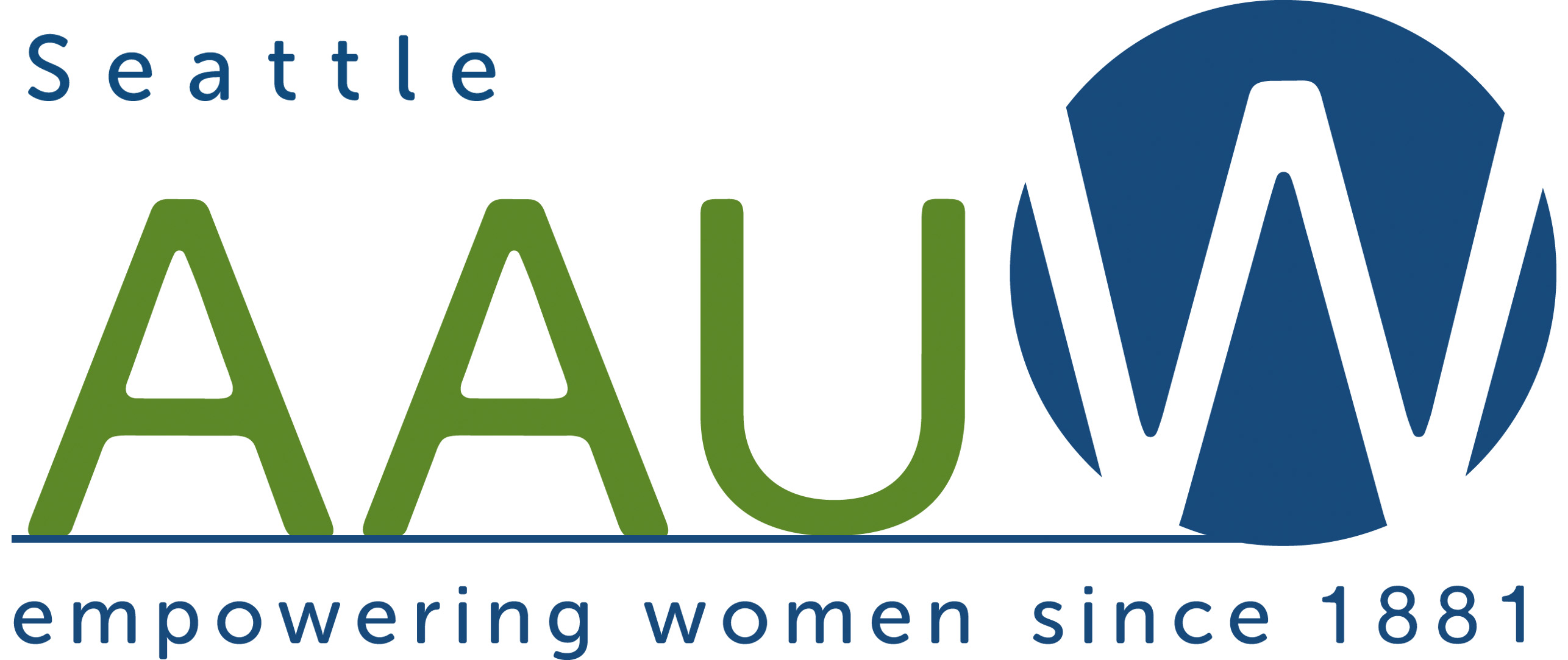 AAUW Seattle Logo