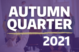 Autumn quarter 2021 information