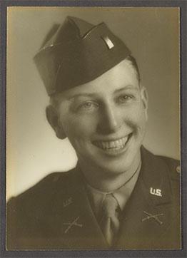 Army portrait of Bill Gates Sr