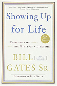 Picture of the book cover of 'Showing Up for Life: Thoughts on the Gifts of a Lifetime'
