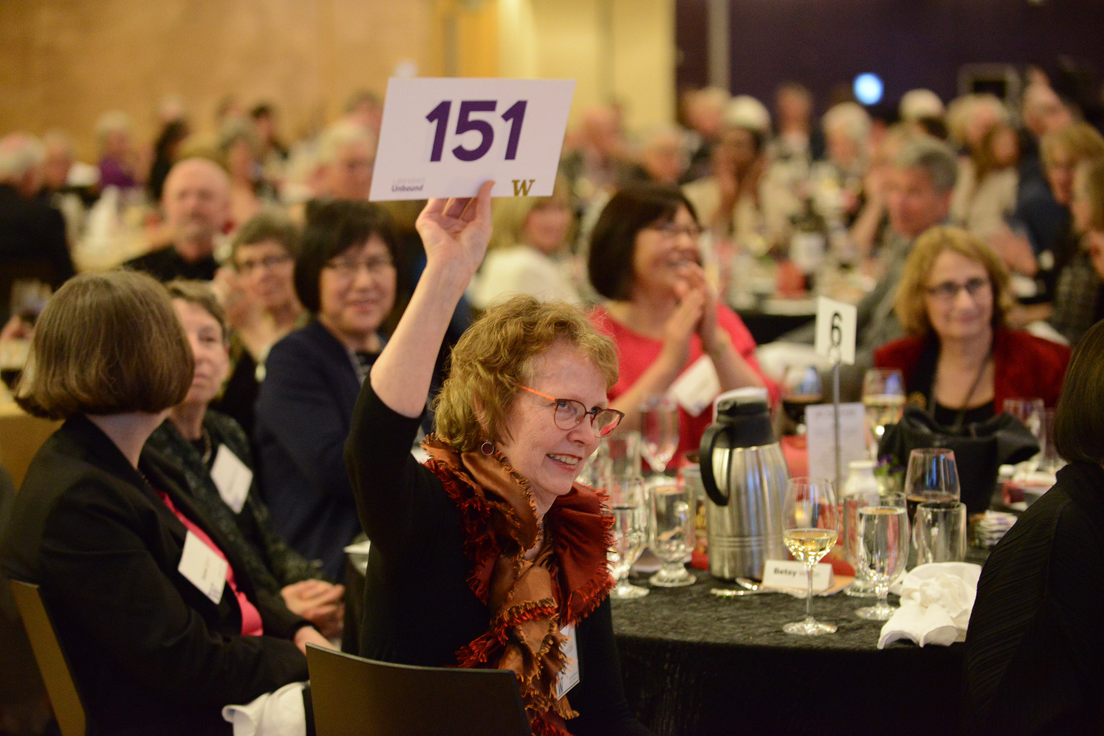Libraries Unbound guests seated at a table