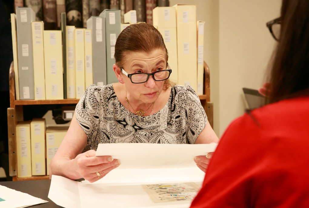 """Rare books curator, Sandra Kroupa, UW Libraries' book arts and rare books curator Sandra Kroupa discusses personal experience, special collections, and artist books including """"Mortal Salt"""" during a Zoom interview."""