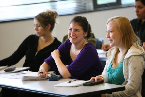 Students in class at UW Bothell