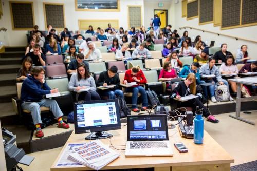 UW students in class