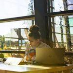 UW student studying