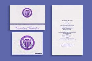 cards from Signature with UW seal