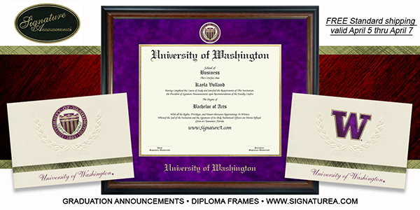 Signature Diploma Covers and Announcements