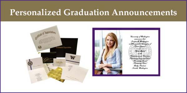 Personalized Graduation Announcements