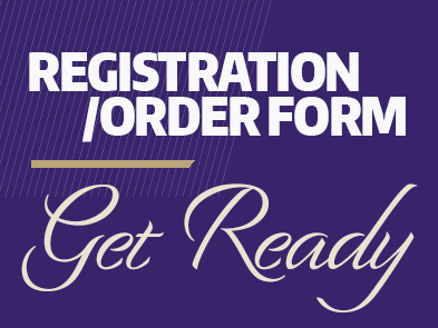 Registration/Order Form - Get Ready