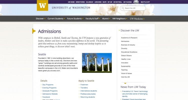 WordPress theme | University Marketing & Communications