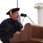 August Wilson receives his honorary degree