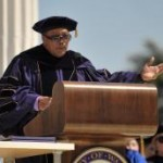 Quincy Delight Jones receives his honorary degree
