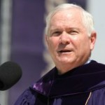 Robert M. Gates receives his honorary degree
