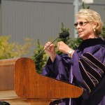 Christine Gregoire speaking at 140th UW Commencement