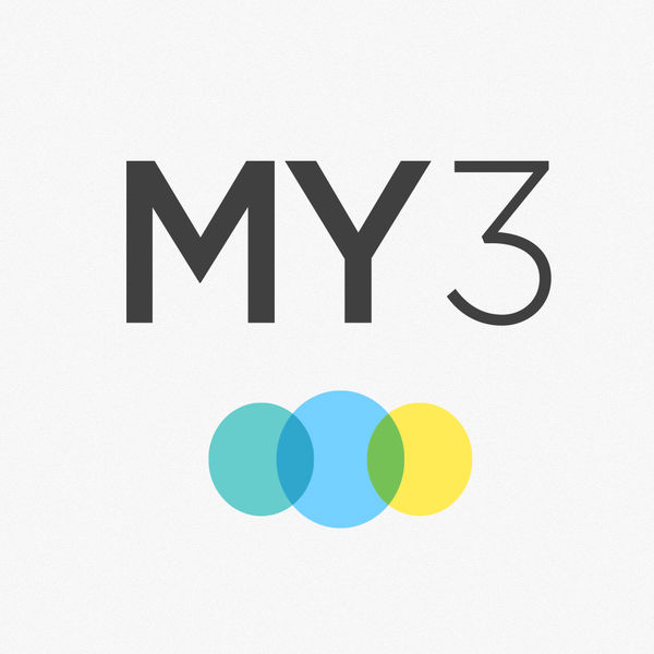 App icon: three circles in green, blue, and yellow on a white background.