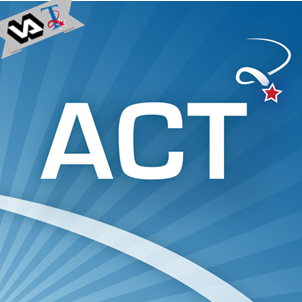 A blue icon with the word 'ACT'.