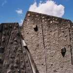 Outdoor Climbing Rock