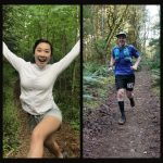 Photos of Emily Vu and Travis Cox, Top Competitors in the 3 Week Run/Walk Challenge