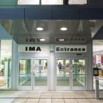 A photo of the entrance to the IMA.