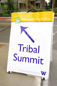 Tribal Summit/Land Blessing