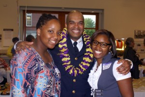 Chief John Vincent Reception