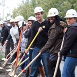 Ethnic Cultural Center Groundbreaking