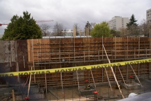 ECC Construction Progress – December 2, 2011