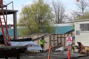 ECC Construction Progress – April 5, 2012