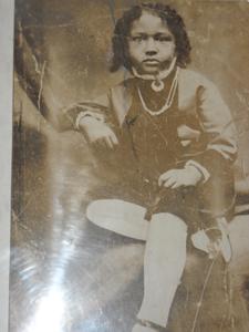 W.E.B. Du Bois, age 4