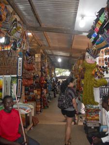 Ghanian market