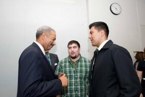 Congressman Chaka Fattah Meets With GEAR UP Students
