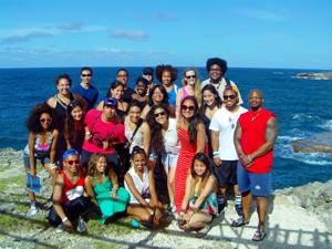 Barbados 12 group photo