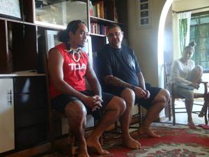 Tao tao the tattoo artist/Marquesan dancer