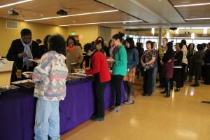 Women of Color Reception 2013