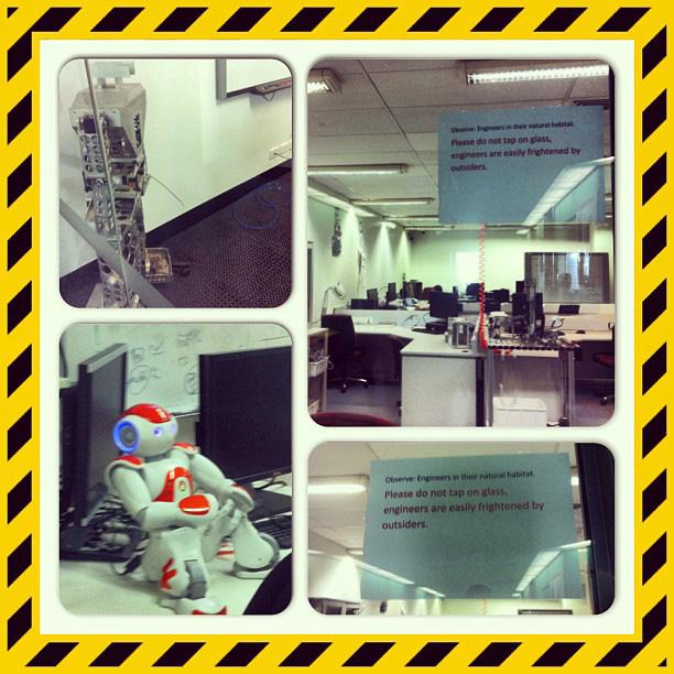 2013 Australia Study Abroad - Robotics Building
