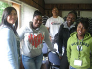 Students in Upward Bound