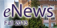eNews Fall 2013