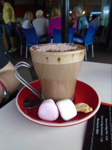 The classiest hot chocolate I have ever seen.