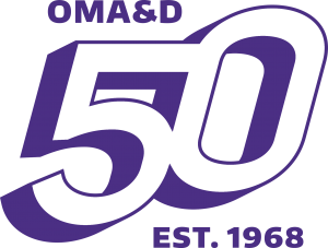 OMAD 50th Logo