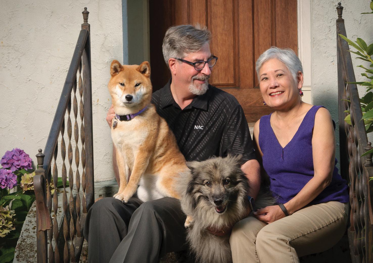OMA&D donors Dan and Linda Jardine