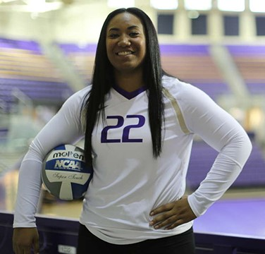 Link to article: UW's first Tongan volleyball player reflects on the value of bridging the vision gap