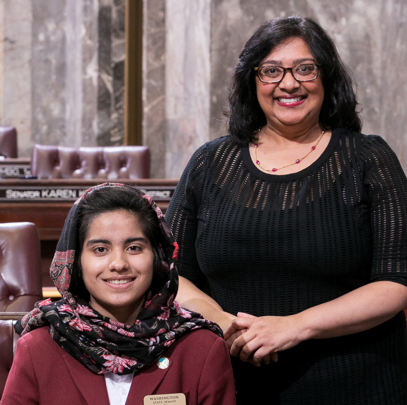 Link to article: Upward Bound Student Serves as Page in Washington State Senate