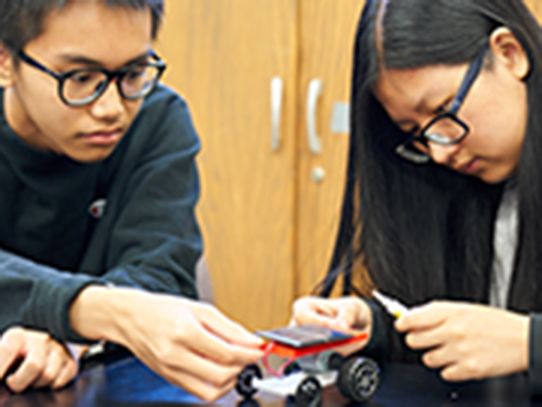 Students in Math Science Upward Bounds