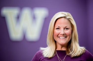 University of Washington Athletic Director Jennifer Cohen on May 24, 2016. (Photography by Scott Eklund/Red Box Pictures)