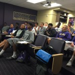 UW Men's Basketball team student-athletes prepare for their November trip to China