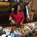 Tea ceremony in Shanghai