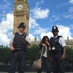 Dark Empire student with London police