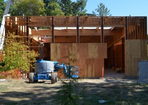 Intellectual House construction progress (August 26, 2014)
