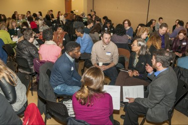 UW Office of Minority Affairs and Diversity Symposium on 1-30-15 at Kelley Ethnic Cultural Center (C) 2015 Karen Orders Photography